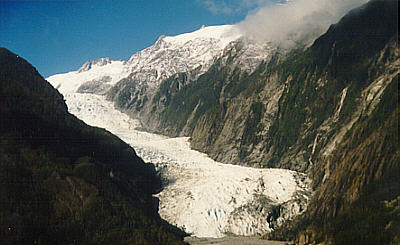 The Fox Glacier